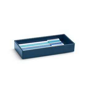 Slate Blue Small Accessory Tray,Slate Blue,hi-res