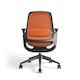 Orange Steelcase Series 1 Chair, Black Frame,Orange,hi-res