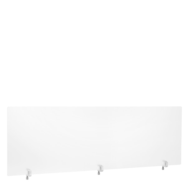 "Frost White Translucent Privacy Panel, End Cap, 55"",,hi-res"