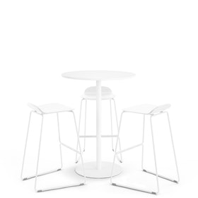 White Tucker Standing Table