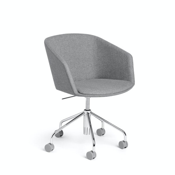 Gray Pitch Meeting Chair,Gray,hi-res
