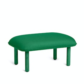 Leaf Green QT Privacy Lounge Ottoman