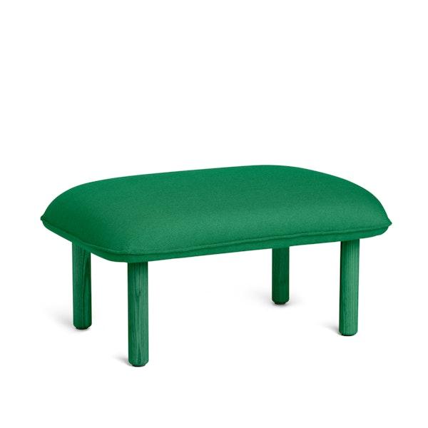 Leaf Green QT Privacy Lounge Ottoman,Leaf Green,hi-res