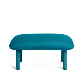 Teal QT Privacy Lounge Ottoman