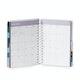 Aqua Medium 18-Month Pocket Book Planner, 2019-2020,Aqua,hi-res