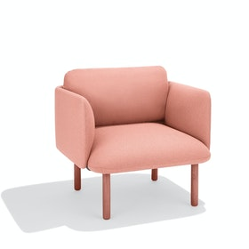 Blush QT Lounge Low Chair