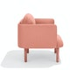 Blush QT Lounge Low Chair,Blush,hi-res