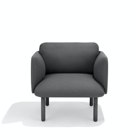 Dark Gray QT Lounge Low Chair