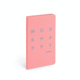 Guava Work Happy Hard Cover Journal,Guava,hi-res