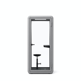 Light Gray PoppinPod Kolo 1 with Stool