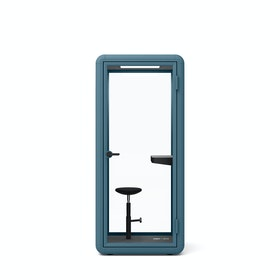 Slate Blue PoppinPod Kolo 1 with Stool