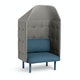 Dark Blue + Gray QT Privacy Lounge Chair with Canopy,Dark Blue,hi-res