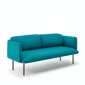 Black QT Lounge Low Sofa Metal Legs, Set of 4,,hi-res