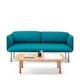 Black QT Lounge Low Sofa Metal Legs, Set of 4,,hi-res