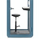 Slate Blue PoppinPod Kolo 1 with Stool,Slate Blue,hi-res