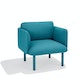 Teal QT Lounge Low Chair,Teal,hi-res