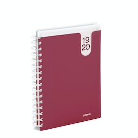 Wine Medium 18-Month Pocket Book Planner, 2019-2020