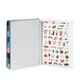 Wine Medium 18-Month Pocket Book Planner, 2019-2020,Wine,hi-res