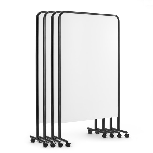 Black Goal Dry Erase Board, Set of 4,Black,hi-res