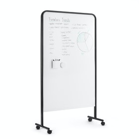 Black Goal Dry Erase Board, Set of 4