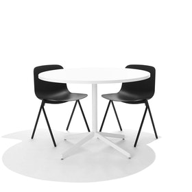Black Key Side Chair, Set of 2,Black,hi-res