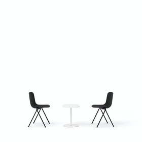 Black Key Side Chairs + Tucker Side Table Set
