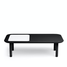 Black Take Note Coffee Table + Memo Pad