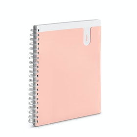 Blush 3-Subject Pocket Spiral Notebook