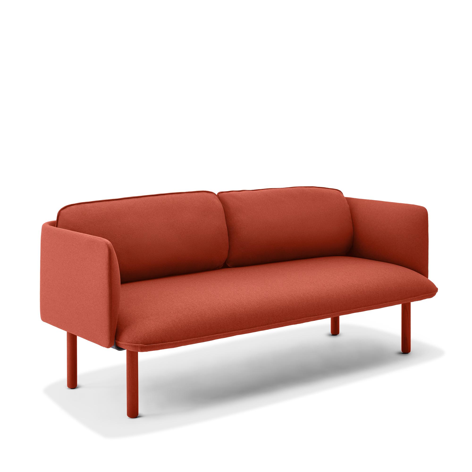 Brick QT Lounge Low Sofa | Modern Lounge Furniture | Poppin