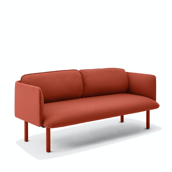 Brick QT Lounge Low Sofa,Brick,hi-res