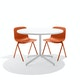 Brick Key Side Chair, Set of 2,Brick,hi-res