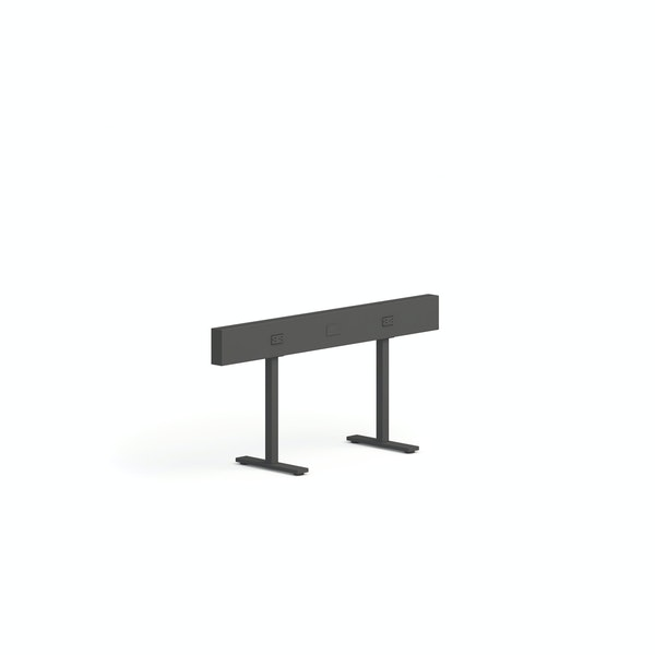 """Charcoal Boom Power Rail for 2, 50"""",Charcoal,hi-res"""