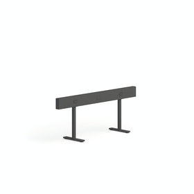 """Charcoal Boom Power Rail for 2, 60"""""""