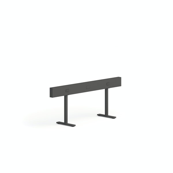 """Charcoal Boom Power Rail for 2, 60"""",Charcoal,hi-res"""