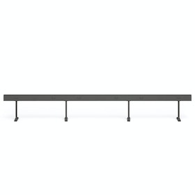 """Charcoal Boom Power Rail for 6, 60"""""""