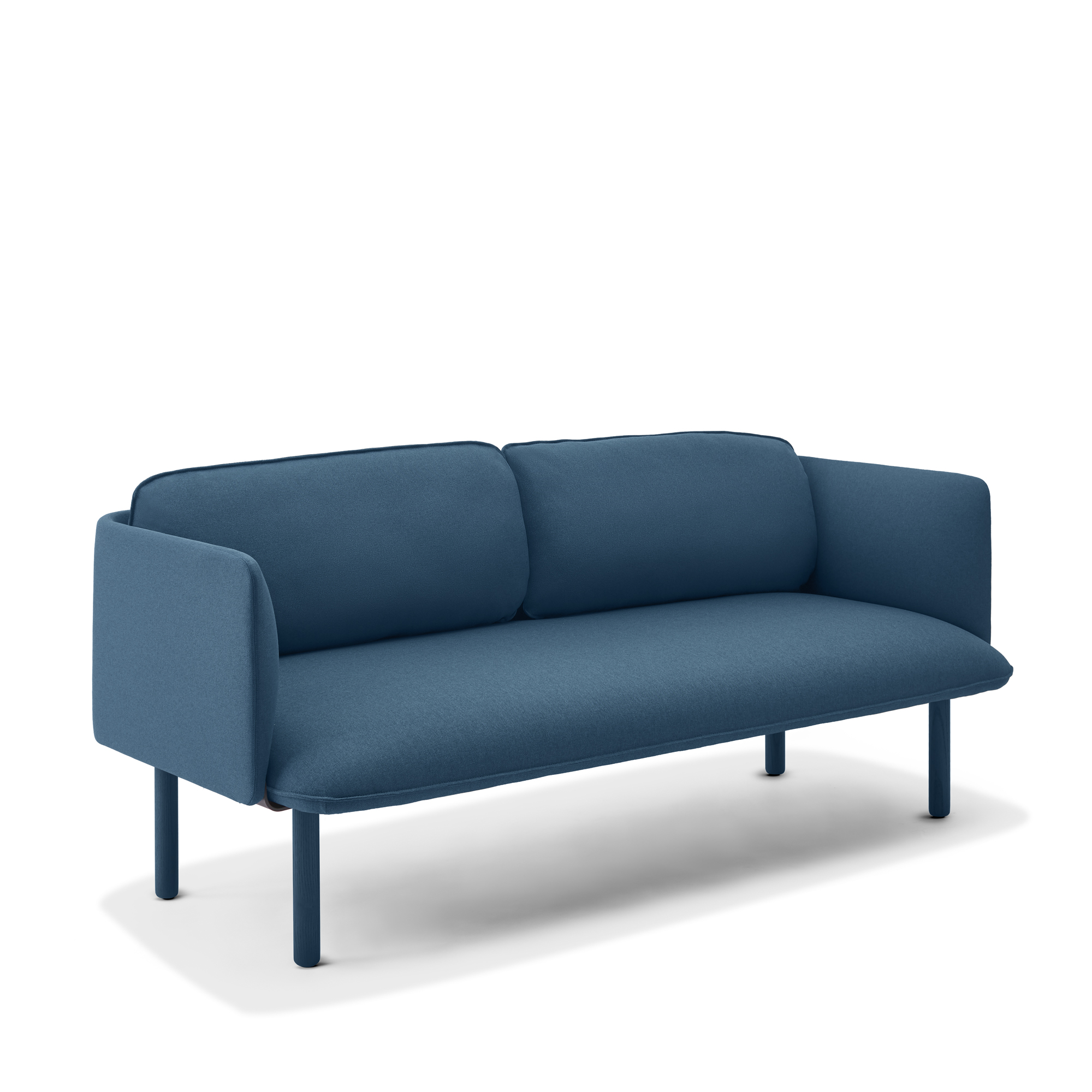 Dark Blue Qt Lounge Low Sofa Modern