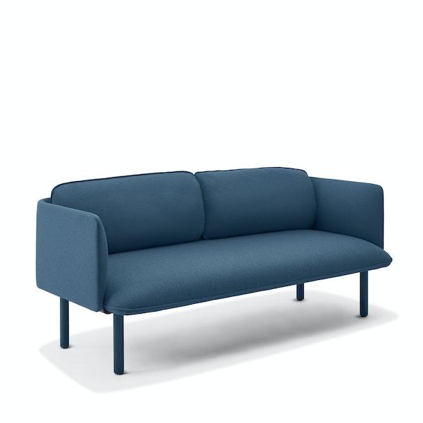 Dark Blue QT Lounge Low Sofa,Dark Blue,hi-res