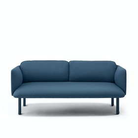 Dark Blue QT Lounge Low Sofa