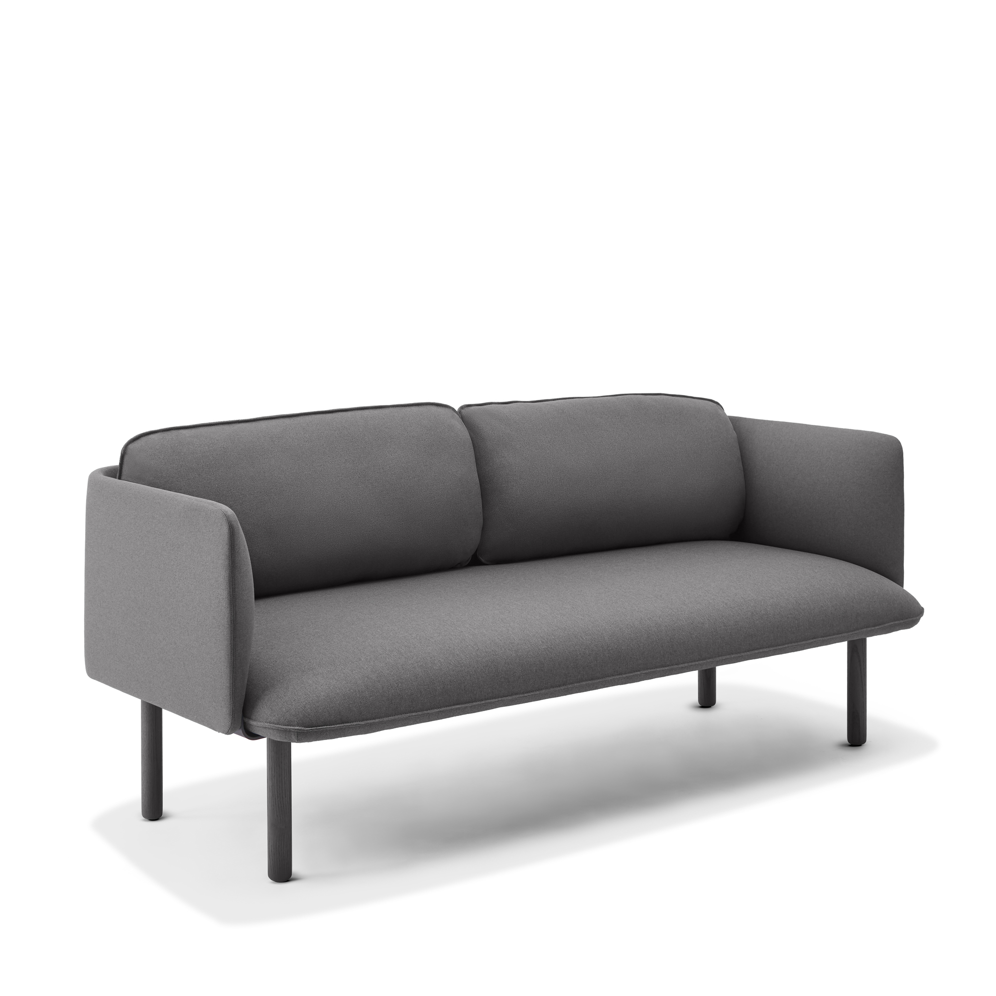 Dark Gray Qt Lounge Low Sofa Modern