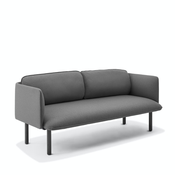 Dark Gray QT Lounge Low Sofa,Dark Gray,hi-res