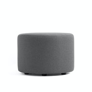 "Block Party Lounge Round Ottoman, 24"",,hi-res"