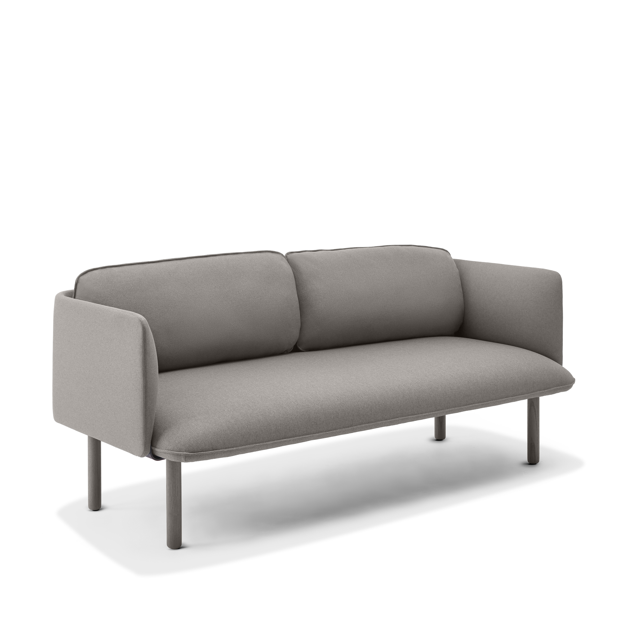 Gray Qt Lounge Low Sofa Modern