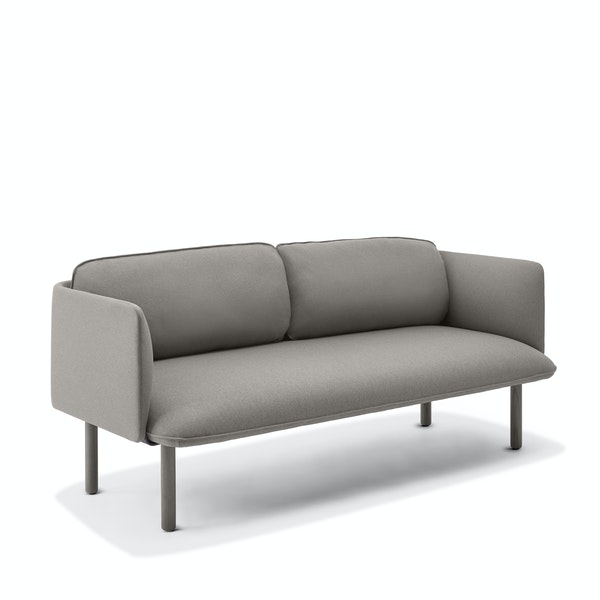Gray QT Lounge Low Sofa,Gray,hi-res