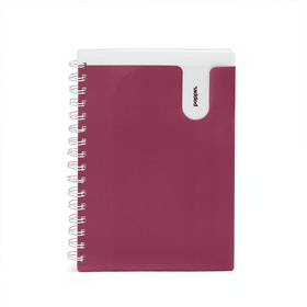 Wine Medium Pocket Spiral Notebook