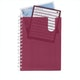 Wine Medium Pocket Spiral Notebook,Wine,hi-res