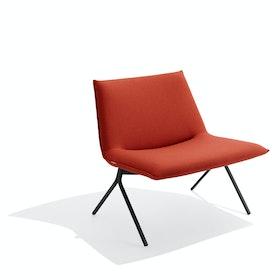 Brick + Black Meredith Lounge Chair
