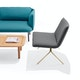 Dark Gray + Brass Meredith Lounge Chair,Dark Gray,hi-res
