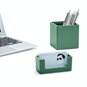 Sage Business Card Holder