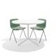 Sage Key Side Chair, Set of 2, with Tan Seat Pad,Sage,hi-res
