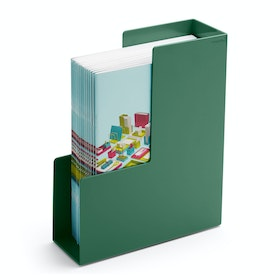 Sage Magazine File Box